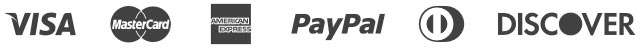payment options, visa, mastercard, american express, paypal, discover