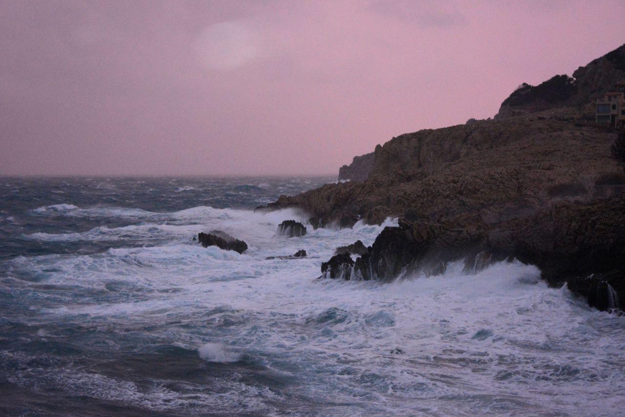 Riesenwelle Mallorca