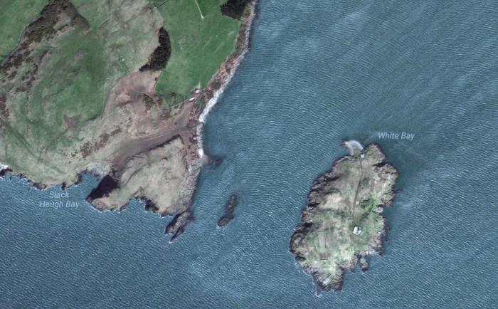 Insel Zum Verkauf Little Ross Island Hat Ein Geheimnis
