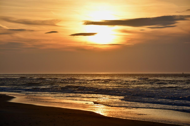 Strand nordsee sonnenuntergang  Nordsee Strand Sonnenuntergang - 1 -