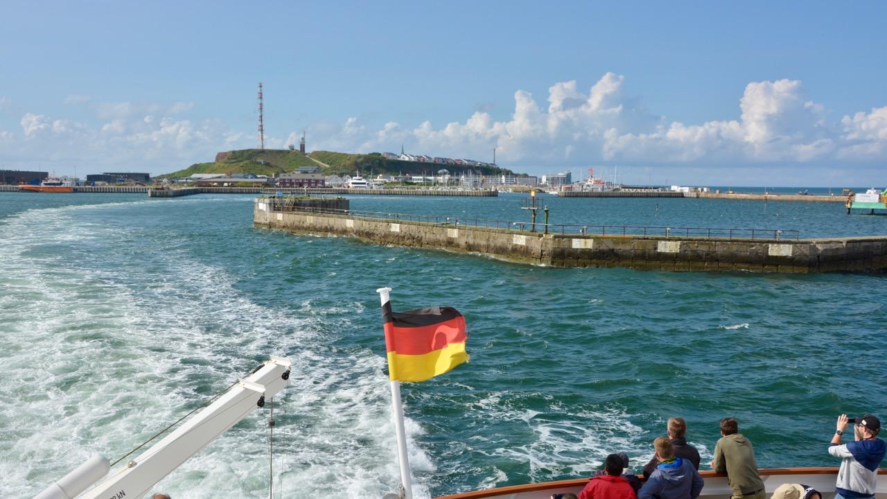 Raus auf die Nordsee: die Helgoland-Tour mit Ankerherz!