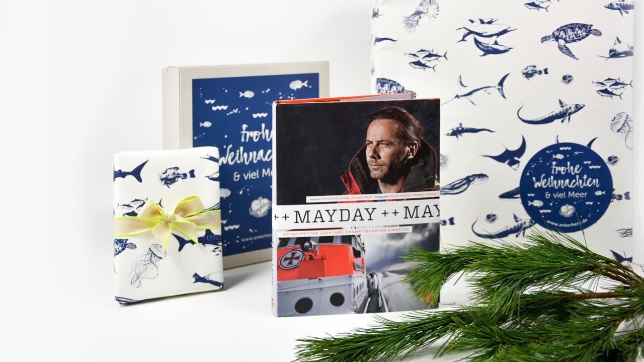 Buch Geschenk Weihnachten.Geschenk Ein Buch Vom Meer Für Weihnachten