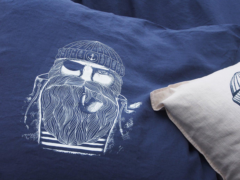 Schlafen Wie Ein Seemann Maritime Bettwäsche Von Ankerherz